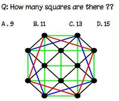 how many are there how many squares do you see