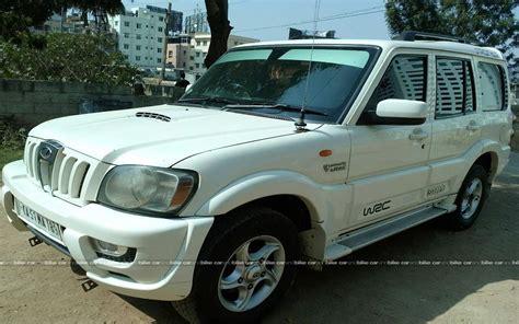 used mahindra scorpio price in india used mahindra scorpio vlx 2wd bs4 in bangalore 2009 model