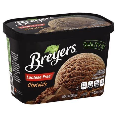 lactose free light cream breyers ice cream light lactose free chocolate publix com