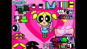 cartoon network s powerpuff girls dress up game youtube