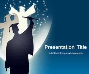 Free Graduation Powerpoint Template Free Powerpoint Templates Slidehunter Com Graduation Powerpoint Template