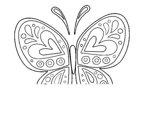 imagenes de mandalas mariposas dibujo de mandala mariposa para colorear dibujos net