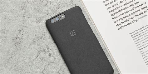 Oneplus 5 Op 5 Protect Casing 1 official protective sandstone for oneplus 5