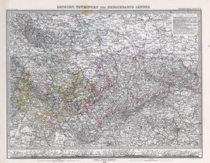 adolf stieler s atlas 220 ber alle theile der erde und 252 ber das weltgeb 228 ude 1881