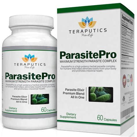 Parasite Detox by Buy Teraputics Parasitepro Parasite Cleanse For Humans