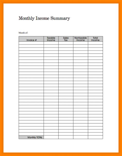 list of monthly expenses template 7 monthly expenses template monthly bills template