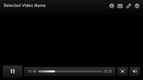 audio video media player ui element psd best ui psd ui