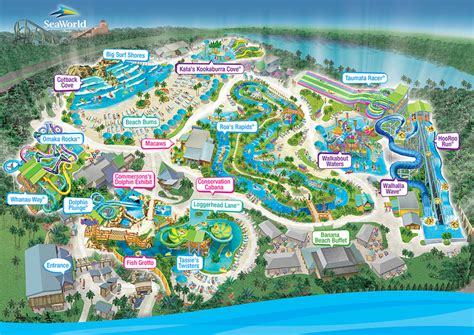 water parks in california map seaworld s aquatica water park aquatica water park
