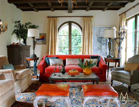 spanish living room luster interiors spanish colonial with a twist