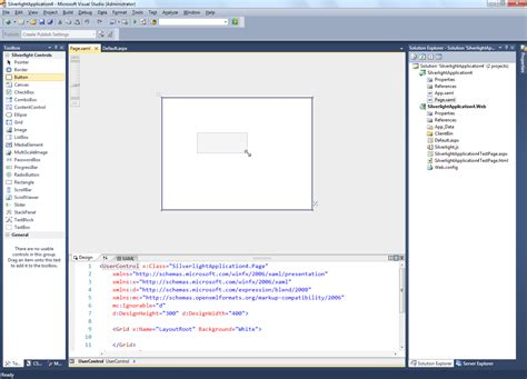 layout menu visual studio 2010 silverlight and visual studio 2010 beta 1