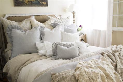 Cottage Bedspreads by A Conservative Cottage Shabby Chic Bedding