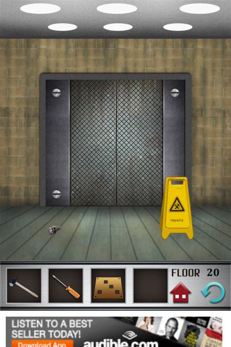 100 Doors Floor 61 - 100 floors walkthrough cheats review 100 floors level