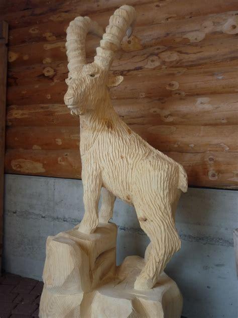steinbock woodcarve