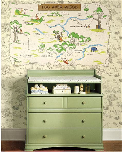 winnie the pooh bedroom wallpaper baby winnie the pooh wallpaper and border for the nursery