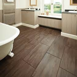 tile wood floor bathroom decoration