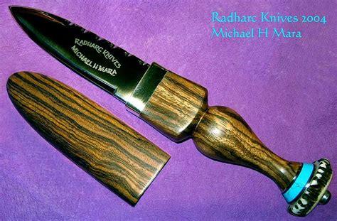 Sgian Dubh Handmade - custom handmade knives zebra d2 sgian dubh