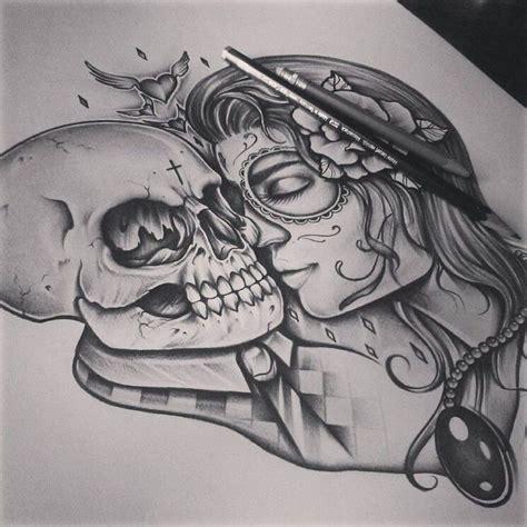 tattoo couple sketch 17 best ideas about skull couple tattoo on pinterest