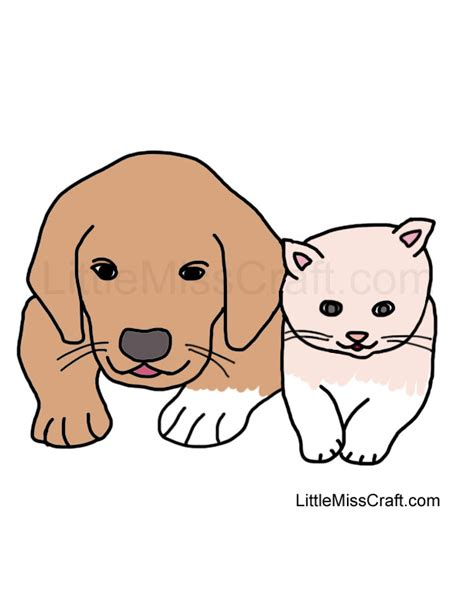 puppy and kitten coloring pages coloring pages of kittens and puppies to print printable coloring pages kittens and