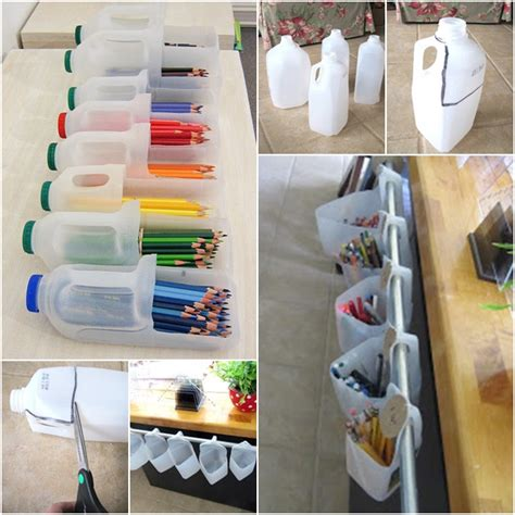 diy home office redecorating ideas recycled things 30 mind blowing ways to upcycle plastic bottles at home
