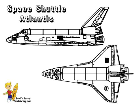 Spectacular Space Shuttle Coloring Space Shuttle Free Space Shuttle Coloring Pages