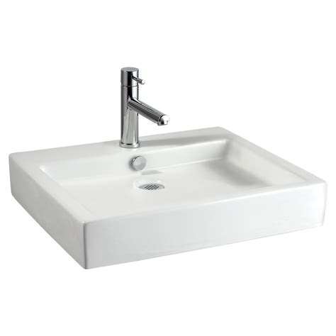 bathroom sinks shop jacuzzi anna white ceramic drop in rectangular