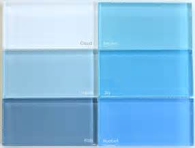 blue glass tile modwalls live your colors