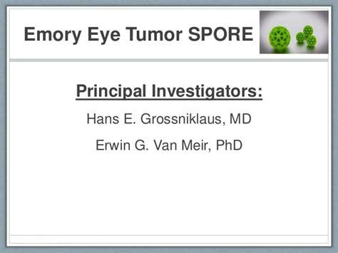 Impact 360 Mba Emory by Emory Eye Tumor Spore Update Robin Noe Md