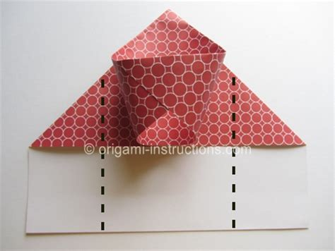How To Make A Origami Basketball Hoop - easy origami basketball hoop folding