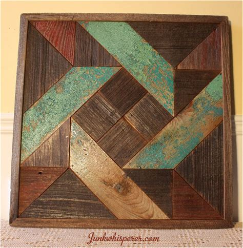 Wooden Quilt by Pinwheel Quilt Wood Wall Wooden Wall Hanging Wood Rustic