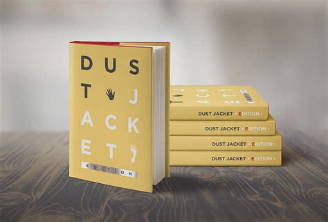 book free book mock up dust jacket edition punedesign