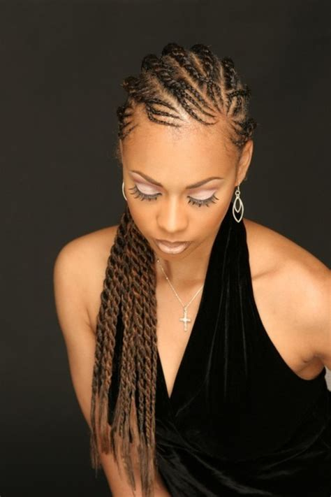 braided flat twist hairstyles for black women 37 chic twist hairstyles for natural hair