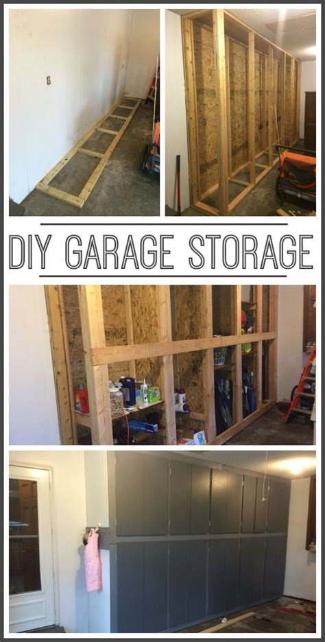 diy garage storage diy garage storage cabinets sugar bee crafts