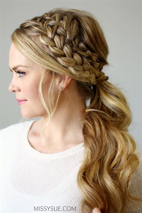 ponytail braid hairstyles 17 gorgeous braided hairstyles