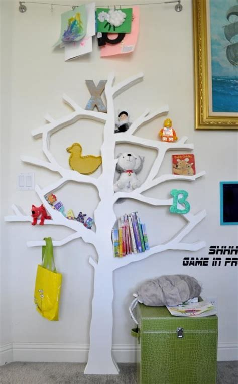 bub s roomate totoro diy tree bookshelf gw prints