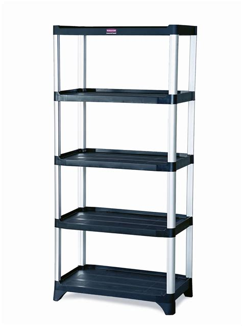 rubbermaid storage shelves rubbermaid 9t39 shelving 5 shelf unit
