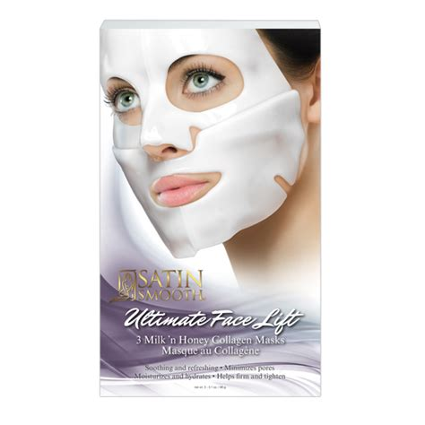 Collagen Mask satin smooth 174 ultimate lift collagen mask ssclgmkg