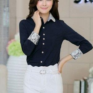 Grosir Baju Blouse Nella Polos 7 best kemeja wanita korea images on korea blouse and blouses