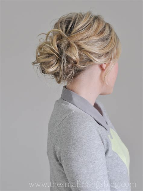long hair buns for late 30 year old the messiest of buns hair tutorial the small things blog