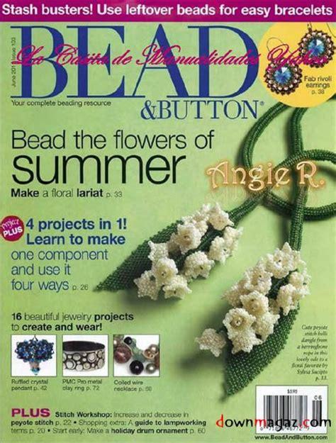 beading magazines bead button june 2011 187 pdf magazines