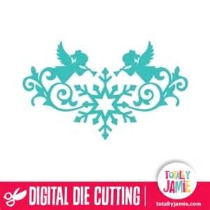 Shop Decoration For Christmas - christmas angel snowflake flourish totallyjamie svg cut files graphic sets amp clip arts
