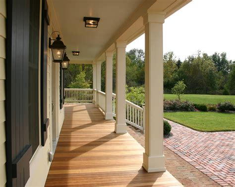 wrap around front porch new farmhouse wrap around porch traditional porch