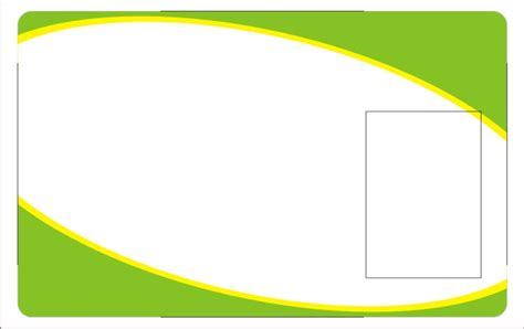 green id card design background suroh yasin