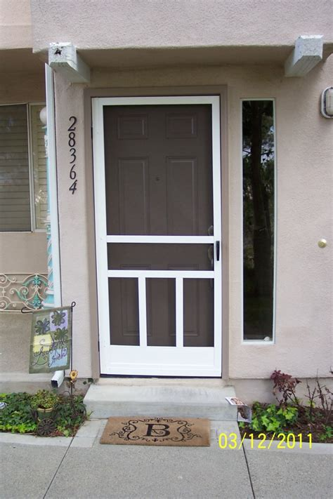 screen doors home depot exterior door ideas decor trends