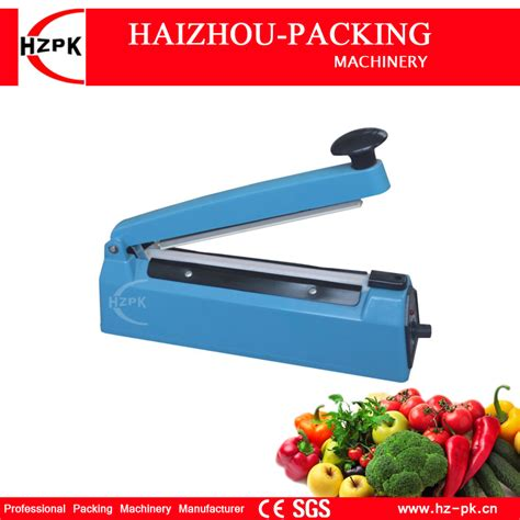 Promo Press Sealer Press Sealer Plastik Impulse Sealer Origin 300mm hzpk selling simple pressure heat impulse sealer