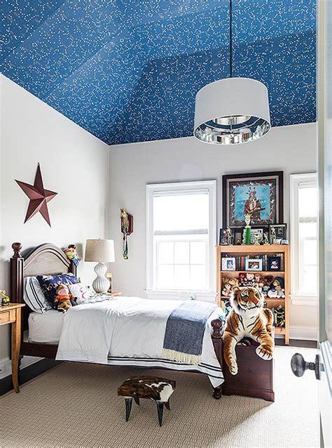ralph lauren boys bedroom kid room ceiling in glow in the dark constellation