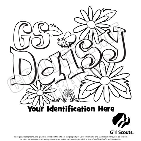 Daisy Girl Scout Coloring Page 8235 Gianfreda Net Scout Coloring Pages For Daisies Printable