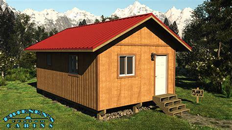 friesen s custom cabins plan 5