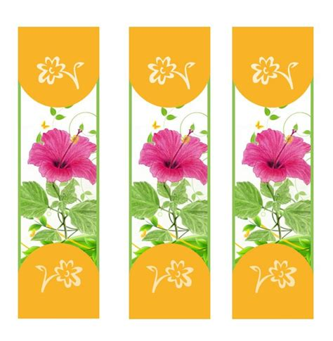 Free Templates For Bookmarks by 50 Free Printable Bookmark Templates Template Lab