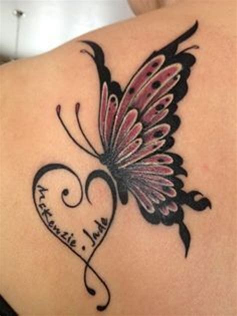 half butterfly tattoo designs side view butterfly stencil pictures to pin on