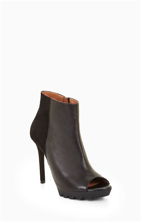 Peep Toe Booties Galore by Nevio Peep Toe Bootie